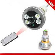 ANK Electronics E30520 0.25 in. CMOS sensor Night Visible Bulb CCTV Camera