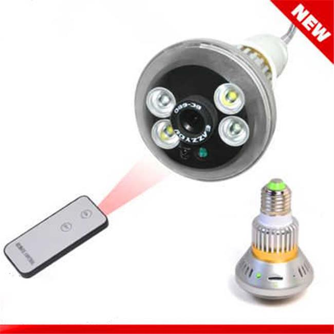 ANK Electronics E30520 0.25 in. CMOS sensor Night Visible Bulb CCTV Camera