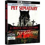 Pet Sematary 2-Movie Collection (4K Ultra HD + Blu-ray)