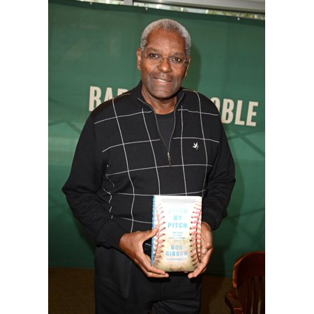 Bob Gibson At In-Store Appearance For Bob Gibson Book Signing For Pitch By Pitch My View Of One Unforgettable Game Barnes And Noble Book Store New York Ny October 6 2015 Photo By Derek StormEverett (Bob Gibson Memorabilia)