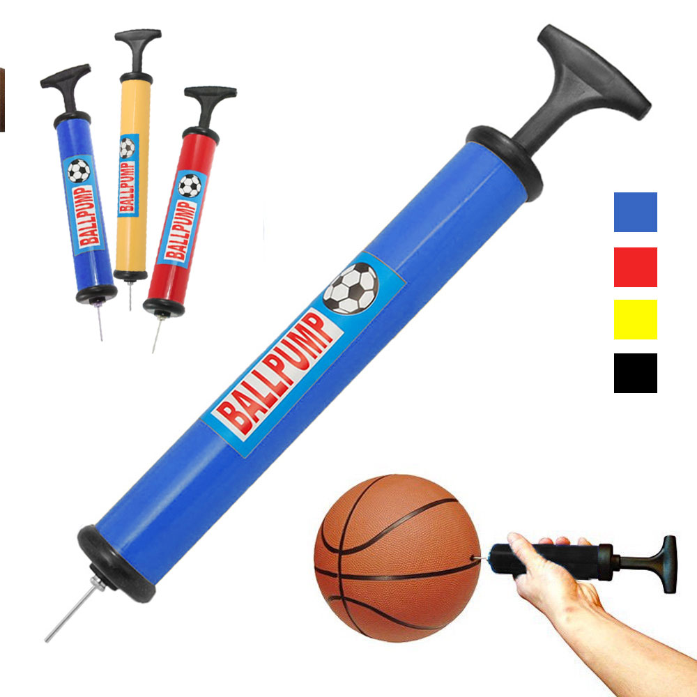 12 Sports Ball Pumps Needle Basketball Soccer Balls Volleyball Hand Air Inflator