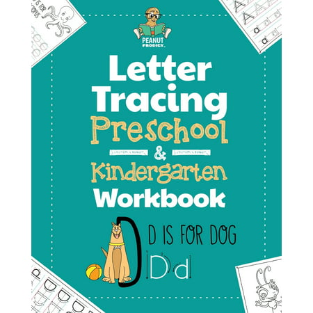 Halloween Activities For Kindergartens (Letter Tracing Preschool & Kindergarten Workbook: Learning Letters 101 - Educational Handwriting Workbooks for Boys and Girls Age 2, 3, 4, and 5 Years Old: The Perfect Toddler and Kids)