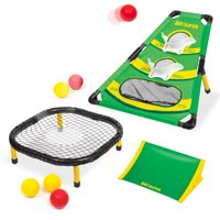 Go! Gater 4-in-1 Rollin' Rebounder, All-Weather Outdoor Yard Game