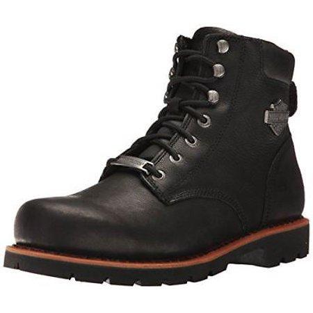 (Harley Davidson Mens Vista Ridge Black Leather Boots 10 US)