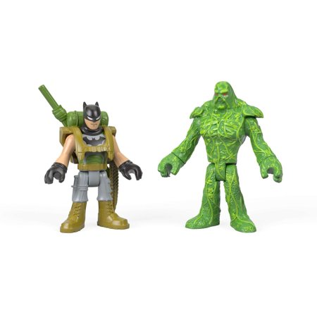 imaginext dc super friends batman swamp thing