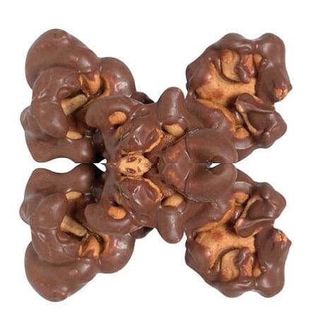 Milk Chocolate Cashew Cluster - Milk Chocolate Cashew Delight, 5 Pounds