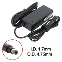 BattPit: New Replacement Laptop AC Adapter/Power Supply/Charger for HP Pavilion 14-c001ea Chromebook, 613149-001, 677770-001, 677770-003, 707600-001, PA-1650-34HK (19.5V 3.33A 65W)
