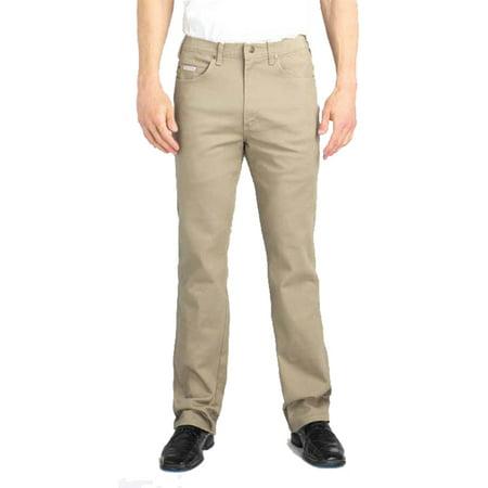 Five Pocket Khaki Stretch Jean