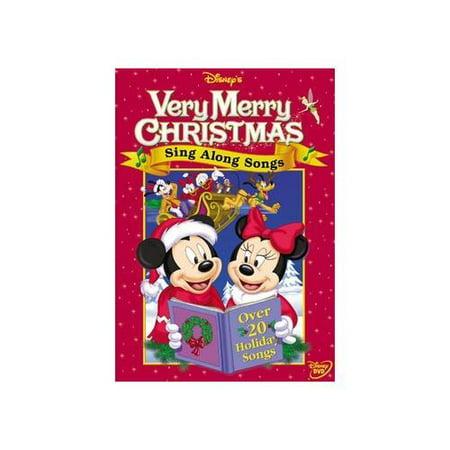 Disney's Sing-Along Songs: Very Merry Christmas (Full Frame) - Walmart.com