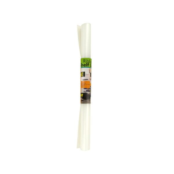 Cabinet Shelf Liner Walmart: Non-Slip Ribbed Plastic Shelf Liner
