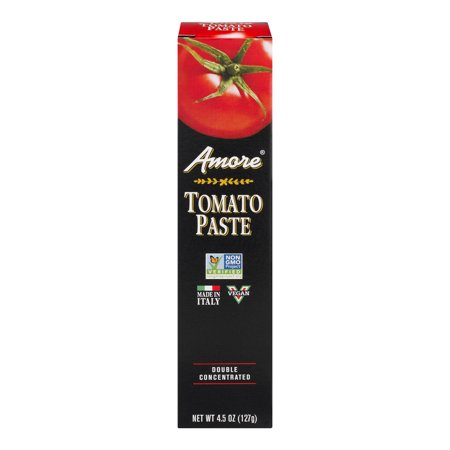 (6 Pack) Panos Brands Amore Tomato Paste, 4.5 oz