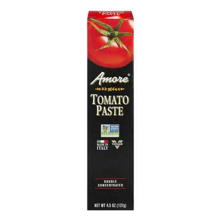 (6 Pack) Panos Brands Amore Tomato Paste, 4.5 - Tomato Paste
