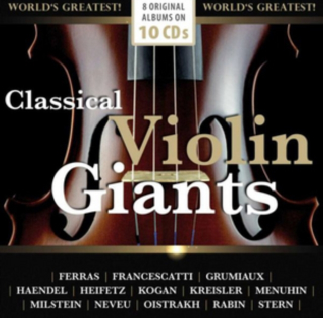 Classical Violin Giants by