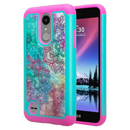cheap for discount 2d893 d9ff8 LG Tribute Dynasty Case, LG Aristo 2 Case LG Tribute Dynasty [Jewel Hybrid]  Protective Soft Silicone Slim Hybrid Case Cover for LG Tribute Dynasty - ...