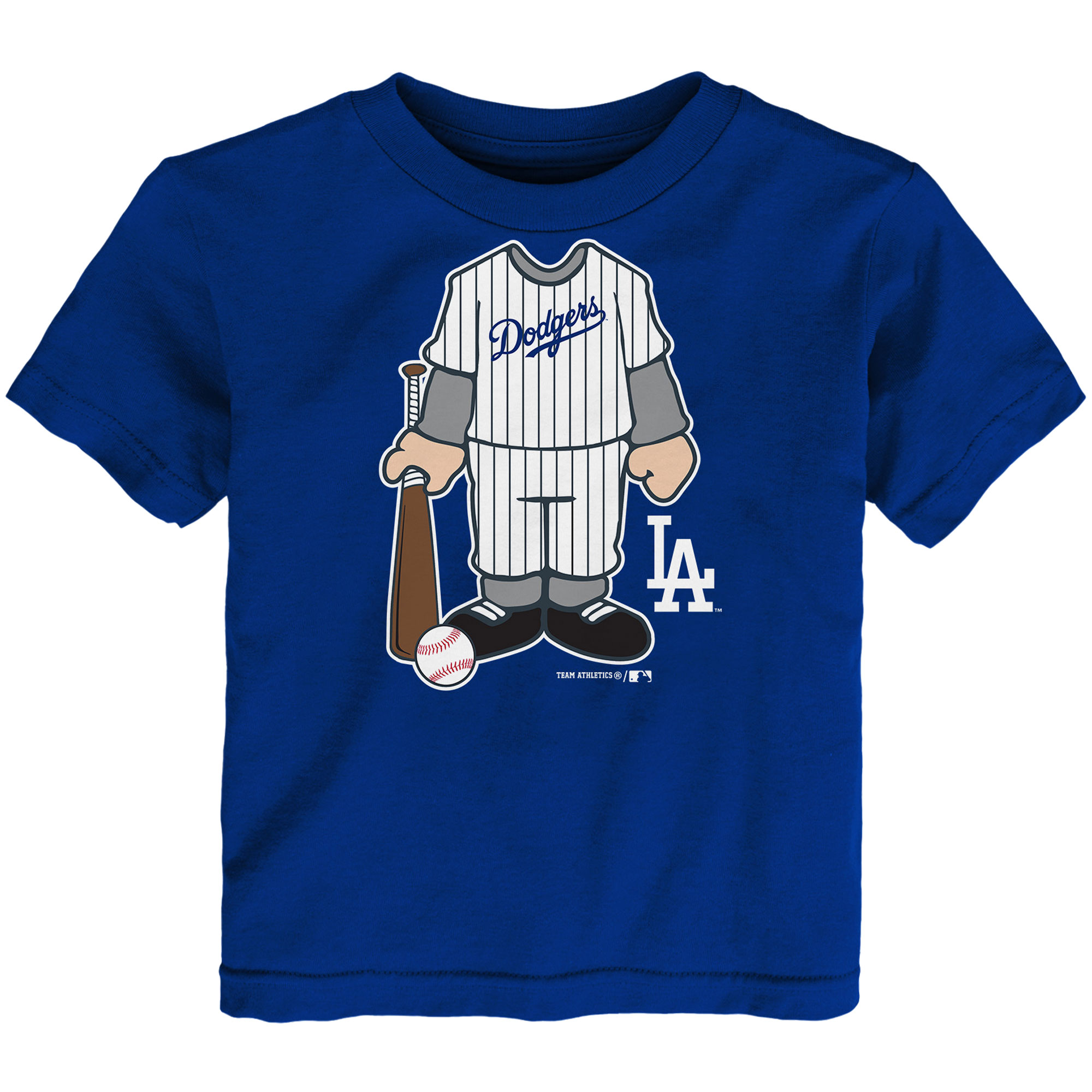 Toddler Royal Los Angeles Dodgers Uniform T-Shirt