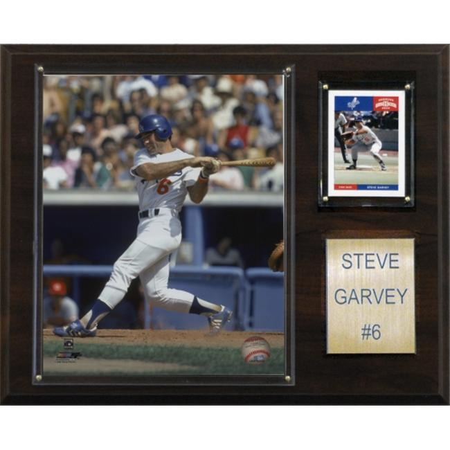 C & I Collectables 1215GARVEY MLB Steve Garvey Los Angeles Dodgers Player Plaque