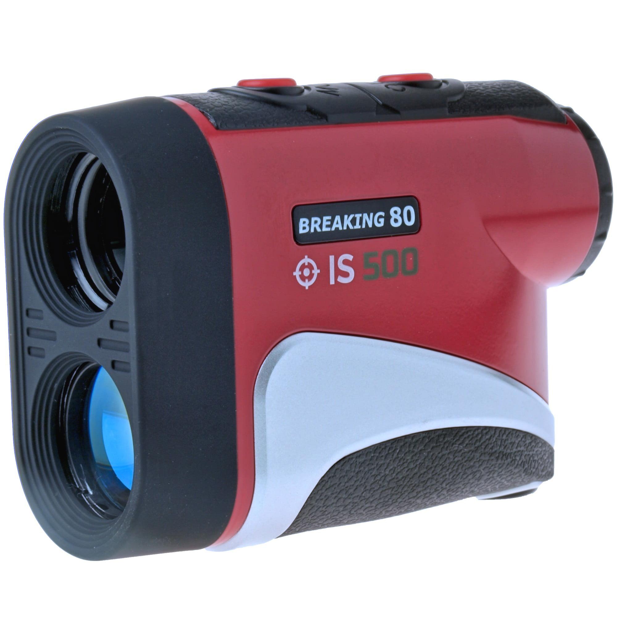 Breaking 80 IS500-RED Golf Laser Rangefinder