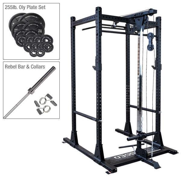 Rugged Olympic Rack Package