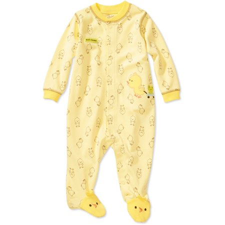 Child of Mine by Carter's - Newborn Boys' Duck Sleep n' Play Bodysuit