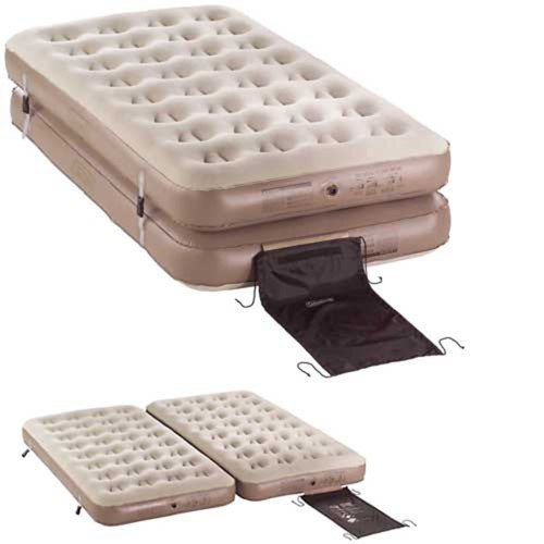 Coleman EasyStay 4-N-1 Single High Airbed, Twin/King