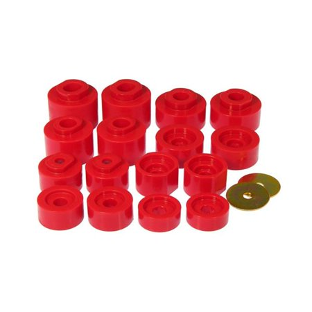 Prothane 6-116 Track Cab Mounts for 2001-2005 Ford Explorer Sport - Red - image 1 of 1