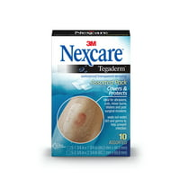 Nexcare Tegaderm Transparent Dressing, 5 1-3/4 inch x 1-3/4 inch and 5 2-3/8 inch x 2-3/4 inch