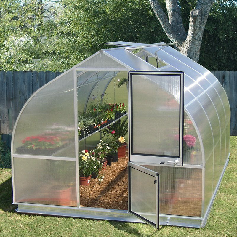 Hoklartherm RIGA IV 9.6 x 14-Foot Greenhouse by Exaco Trading Co