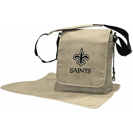 NFL Licensed Diaper Messenger Bag Collection (Green Bay Packer Diaper Bag)
