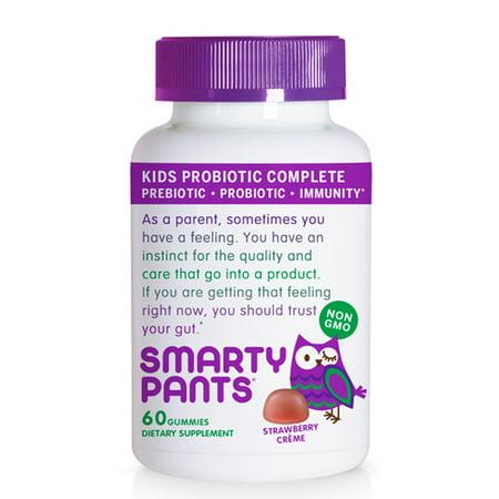 - SmartyPants Kids Probiotic + Wellmune Prebiotic Immunity Gummies, 60 Ct