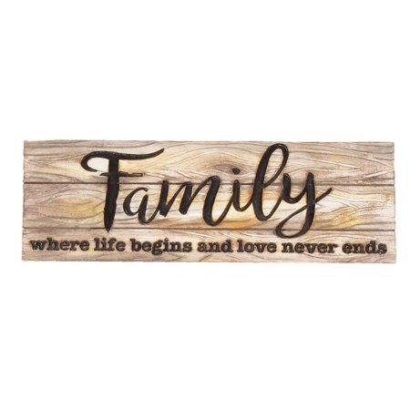 Spoontiques Family Decorative Sign ()