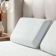 Rest Haven Temperature Regulating Gel Memory Foam Bed Pillow, Standard
