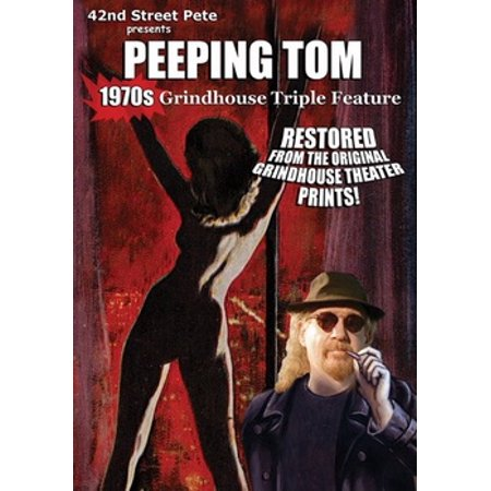 42nd Street Pete's Peeping Tom Grindhouse (DVD) - Peeping Tom Halloween