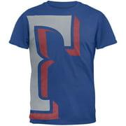 Texas Rangers - Overgrown Logo Soft T-Shirt - Medium