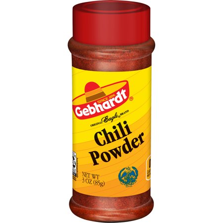 (4 Pack) Gebhardt Chili Powder, 3 ounces