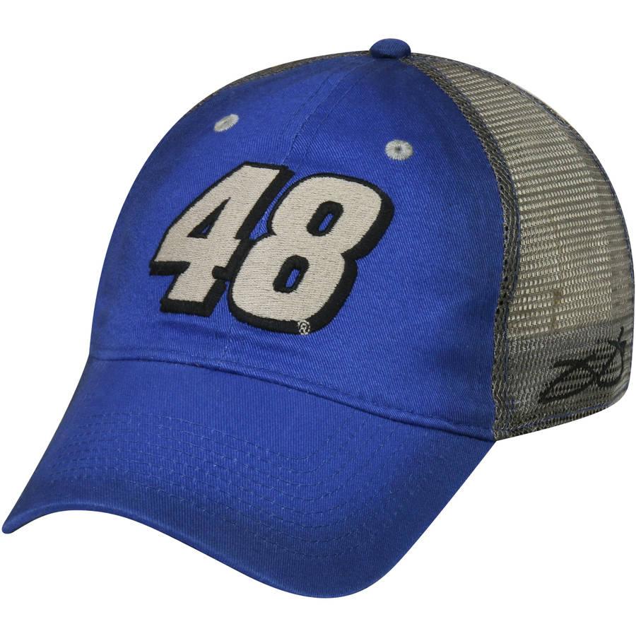 NASCAR Jimmie Johnson #48 Men's Mesh Back Cap