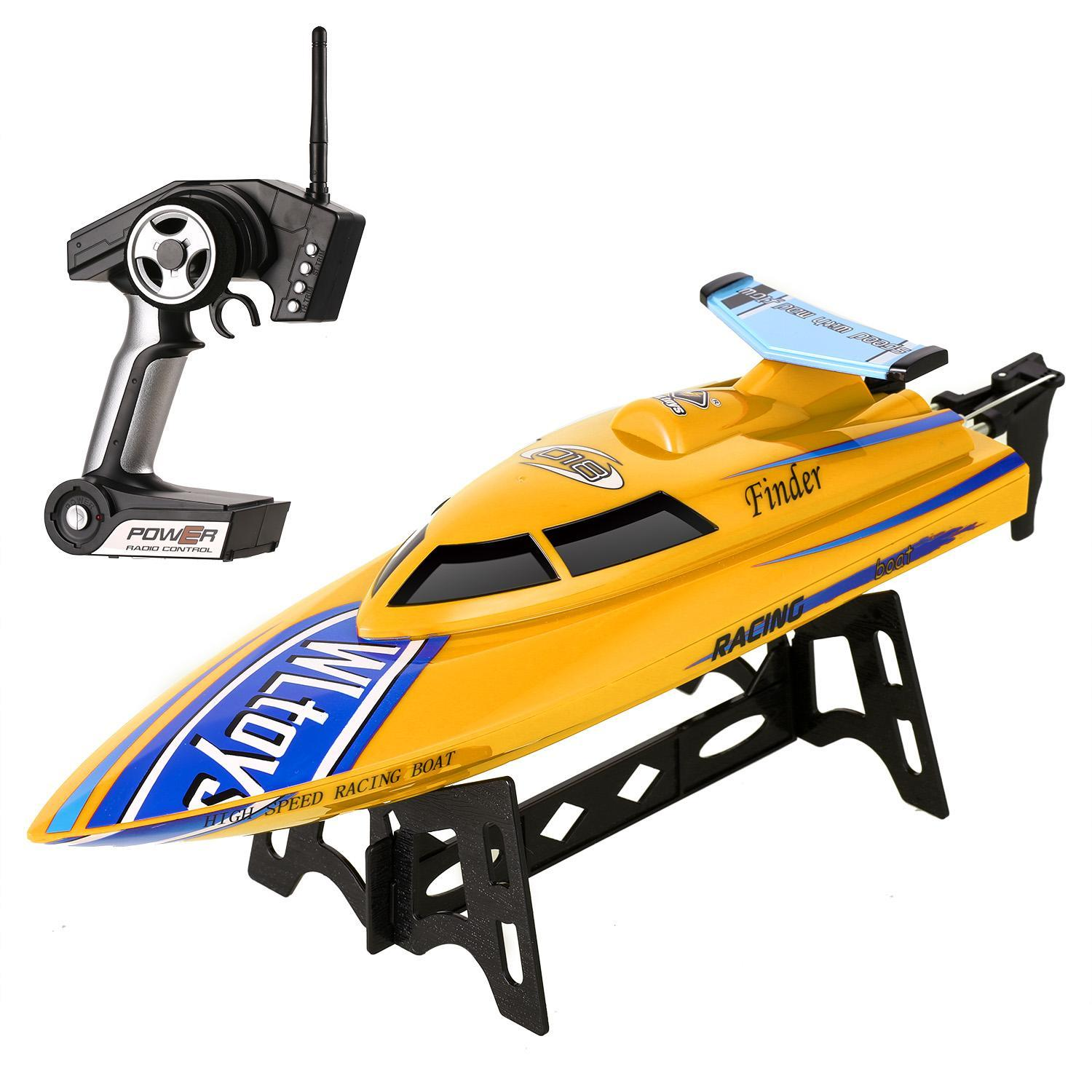 New High Speed Racing Boat Toy 2.4GHz Radio Control Ship Watercraft by