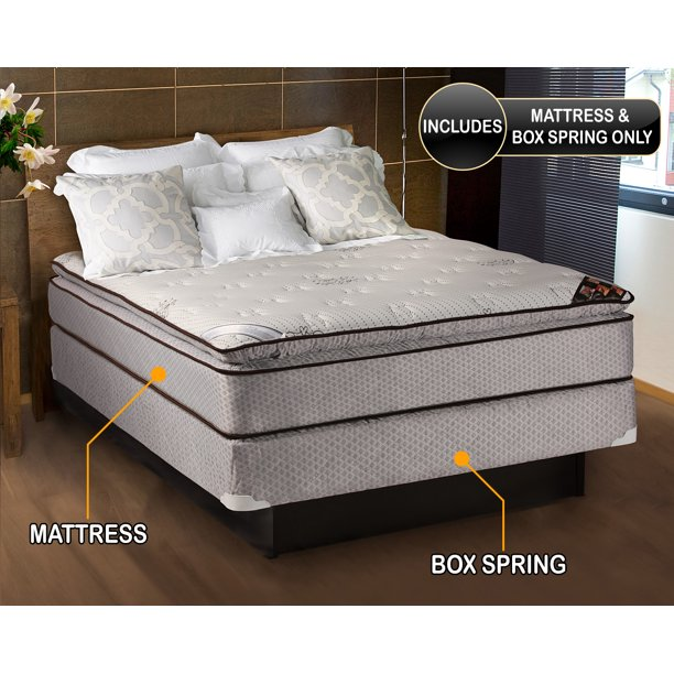 Spinal Dream Soft Plush Pillow Top (Eurotop) (Full Size) Mattress