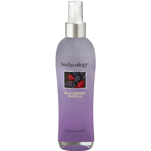 Bodycology Blackberry Vanilla Fragrance Mist, 8 fl oz