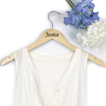 Personalized Jessica Wooden Hanger - Personalized Hanger
