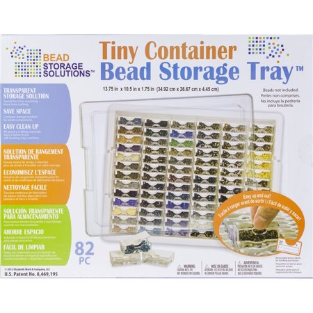 Elizabeth Ward's Tiny Bead Storage Tray 13.75