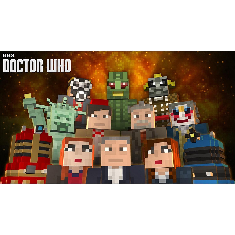 Minecraft: Wii U Edition DLC - Doctor Who Skins Volume II, Nintendo, WIIU, [Digital Download], 0004549666129
