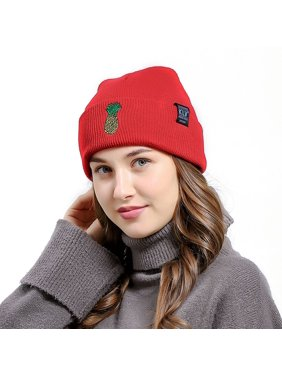 Product Image Fashion Winter Hat Pineapple Pattern Knitted Hat Beanie Men  And Women Warm Hat c3a91f16eeb1