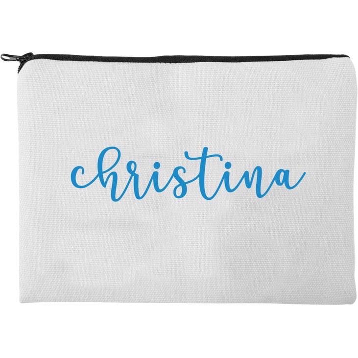 Personalized Christina Makeup Bag