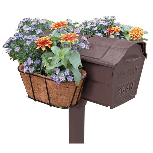 Plastec Products Mailbox Flower Garden