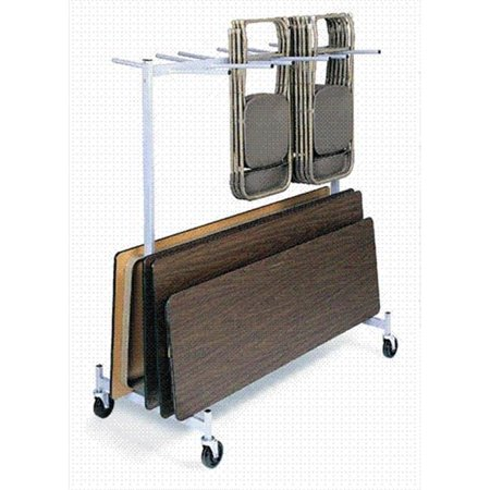Raymond Products 935L Hanging Folded Chair and Table Storage Truck for Lifetime Chairs