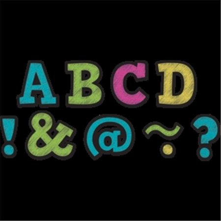 2 in. Chalkboard Brights Bold Block Magnetic Letters