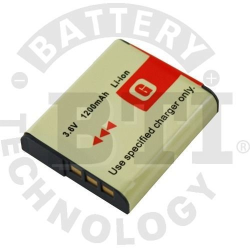 Battery Technology BTI-SY-FG1 Replacement Battery For Sony Digital Camera; Replaces Np-fg1 Np-bg1 Specs: 3.6