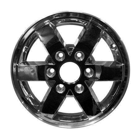 - 2009-2011 GMC Canyon  16x6.5 Aluminum Alloy Wheel, Rim Chrome Cladded Face - 5424