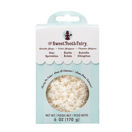 Sweet Toppings (AC Sweet Tooth Fairy Stars Sprinkles, 6oz )