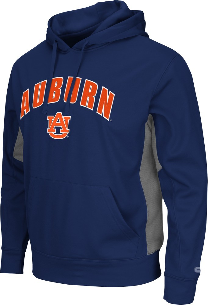 Auburn University Tigers Men's Hoodie Poly Fleece Jacket by Colosseum